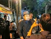 Koordinator relawan Bintang songo saat memberikan keterangan  pers - foto: Koranjuri.com