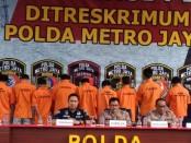 Dalam rentang 2016 hingga 2020, Polda Metro Jaya mengungkap 18 perkara pembobolan kartu kredit dan rekening dengan 48 tersangka - foto: Bob/Koranjuri.com