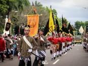 Suasana kirab Parade Budaya, dalam rangka memeriahkan peringatan Hari Jadi Purworejo ke 189, Sabtu (7/3/2020) - foto: Sujono/Koranjuri.com