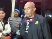Kapolres Metro Jakarta Barat Kombes Pol Audie S Latuheru menyebut hasil pemeriksaan urine aktris Ririn Ekawati negatif narkoba - foto: Bob/Koranjuri.com