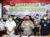 Dua anggota DPRD Gorontalo, Sulawesi Barat ditangkap Satnarkoba Polres Jakarta Pusat di salah satu hotel Jalan Mangga Besar Raya, Sawah Besar, Jakpus, Rabu (18/3/2020) lalu - foto: Bob/Koranjuri.com