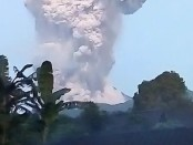 Erupsi Gunung Merapi pada Selasa, 3 Maret 2020 - foto: Istimewa