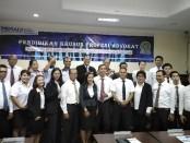 Perhimpunan Advokat Indonesia (PERADI) Dewan Pimpinan Cabang (DPC) Kota Denpasar menggelar Pendidikan Khusus Profesi Advokat (PKPA) angkatan ke-5 tahun 2020 - foto: Koranjuri.com