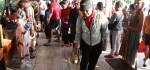 Pelabuhan Penyeberangan di Sanur dan Kawasan Nusa Dua Disemprot Disinfektan