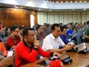 Rapat Satuan Tugas Penanggulangan Covid-19 di gedung Wiswa Sabha, Kantor Gubernur Bali, Jumat, 13 Maret 2020 - foto: Istimewa