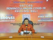 Kasatgas Penanggulangan Covid-19 Provinsi Bali Dewa Made Indra - foto: Istimewa