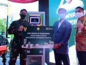 ATM Pertanian Si Komandan diinisiasi oleh Kasad Jenderal TNI Andika Perkasa dan Mentan Syahril Yasin Limpo beserta Senior Vice President BNI Koen Yulianto - foto: Istimewa