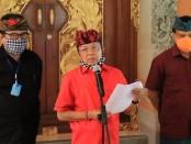 Ki-ka: Wagub Bali Tjokorda Oka Artha Ardhana Sukawati, Gubernur Bali Wayan Koster dan Sekda Provinsi Bali Dewa Made Indra - foto: Istimewa