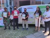 Produk dan Klinik Kecantikan MS Glow menggandeng organisasi kemanusiaan Aksi Cepat Tanggap (ACT) Bali dan Masyarakat Relawan Indonesia (MRI) dalam mendistribusikan sembako kepada pekerja yang terkena PHK di Bali - foto: Istimewa