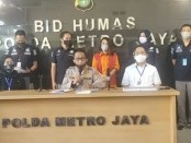 Ditreskrimsus Polda Metro Jaya menangkap ibu rumah tangga bernama Marta Sari dalam kasus unggahan video porno yang mirip dengan selebritis Syahrini - foto: Istimewa/screenshot