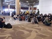 Ratusan kru kapal pesiar tiba melalui bandara Ngurah Rai, Selasa, 12 Mei 2020 - foto: Istimewa