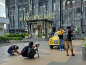 Pengambilan klip lagu pepujaning ati oleh Relink24T - foto: dok.relink24t