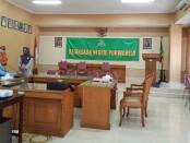 Persiapan sidang putusan perkara perundungan siswa di Purworejo, Rabu (24/06/2020) - foto: Sujono/Koranjuri.com