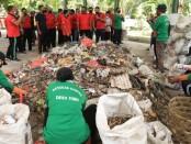 Fasilitas pengolahan material sampah di Banjar Belong, Desa Taro, Tegallalang, Jumat (26/6/2020) - foto: Catur/Koranjuri.com