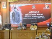Buka Webinar Bulan Bung Karno, Gubernur Koster Ajak Generasi Penerus Gelorakan Ide dan Gagasan Sang Proklamator - foto: Istimewa