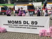 Peduli Sosial MOM' DL 89, 'Hidup Produktif dan Aman Covid-19, yang dilakukan oleh Istri alumni AKABRI Kepolisian 89, Kamis, 11 Juni 2020 - foto: Istimewa
