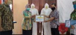 Wabup Purworejo Serahkan Produk Hasil Pelatihan BLK Tanggap Covid-19