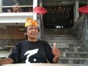 Cak Diqin saat berada di resto miliknya di Desa Pengging, Banyudono, Boyolali - foto: Koranjuri.com