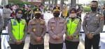 Polri Layani Rapid Tes Gratis di Lokasi CFD Gelora Bung Karno Senayan