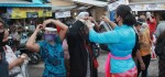 Tim Gabungan Pantau Pasar Tradisional di Gianyar di Hari H Normal Baru