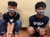 Dua remaja diamankan dalam rencana aksi tawuran di Lokasari, Tamansari, Jakarta Barat - foto: Istimewa