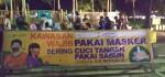 Sanksi Denda untuk Pengunjung Alun-alun Purworejo Tak Bermasker