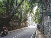 Kawasan jalan Campuhan Ubud - foto: Catur/Koranjuri.com