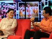 Kadispora Bali IKN Boy Jayawibawa menjadi salah satu narasumber dalam dialog bertema 'Pendampingan Anak Belajar di Rumah di Masa Pandemi Covid-19', bersama Putri Suastini Koster, Jumat, 17 Juli 2020 - foto: Istimewa