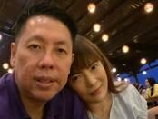 Henry Indraguna bersama istri tercintanya - foto : Istimewa