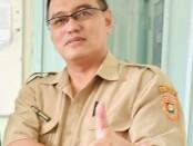 Juru Bicara Protokol Covid-19 Kabupaten Purworejo, dr Tolkha Amaruddin, Sp ,THT KL. - foto: Sujono/Koranjuri.com