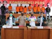 Polda Metro Jaya mengungkap sejumlah kasus pencurian dengan pemberatan (Curat) di wilayah DKI - foto:  Bob/Koranjuri.com