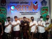 Pengurus Serikat Media Siber Indonesia (SMSI) Provinsi Bali melakukan audiensi di KPU Kabupaten Badung, Kamis, 6 Agustus 2020 - foto: Istimewa