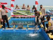 Kapolda Metro Jaya Irjen Pol. Nana Sudjana melakukan Kunjungan Kerja ke Polres Kepulauan Seribu Pulau Karya Kepulauan Seribu Utara, Kamis (6/08/2020) - foto: Istimewa