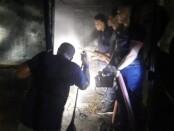 Suasana pabrik dupa di Banjar Kembengan, Desa Tulikup, Gianyar pasca terbakar, Rabu (12/8/2020) petang - foto: Catur/Koranjuri.com