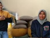 Staso Prasetyo dan Ibundanya, Dian Ekawati - foto : istimewa