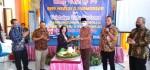Peletakan Batu Pertama Pembangunan Mushola pada HUT ke-74 SMPN 2 Purworejo