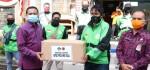 Tekan Carrier Covid-19, 30 Ribu Masker Diberikan untuk Pengemudi Ojol di Bali
