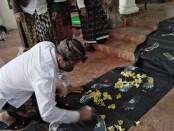 Calon Walikota Denpasar Gede Ngurah Ambara Putra menghadiri 114 tahun peringatan Puputan Badung di Puri Gerenceng, Denpasar, Minggu (20/9/2020) - foto: Koranjuri.com