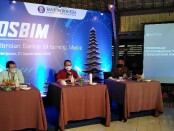 Kepala Perwakilan Bank Indonesia Provinsi Bali, Trisno Nugroho (tengah), pada acara Obrolan Santai BI Bareng Media di Sanur, Denpasar, Senin, 21 September 2020 - foto: Koranjuri.com