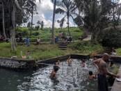 Suasana di Taman Sari atau Bebengan, Desa Pakraman Bukit Jangkrik, Kelurahan Samplangan Gianyar, Minggu (27/9/2020) - foto: Catur/Koranjuri.com