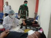 Donor Plasma di Makorem 163/Wira Satya, Denpasar, Selasa (29/9/2020) - foto: Istimewa