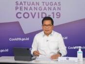 Juru Bicara Satgas Penanganan Covid-19 Prof. Wiku Adisasmito - foto: Istimewa