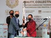 Wakil Gubernur Bali Tjok Oka Artha Ardhana Sukawati (Cok Ace) menghadiri Musyawarah Daerah I Indonesian Hotel General Manager Association (IHGMA) DPD Bali di Sanur, Denpasar pada Jumat (2/10/2020) - foto: Istimewa