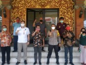 Pengurus baru Ikatan Keluarga Batak Bali (IKBB) Provinsi Bali bertemu Kapolresta Denpasar Kombes Pol. Jansen Avitus Panjaitan, Kamis (1/10/2020) - foto: Istimewa