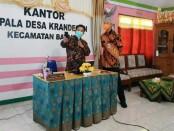 Gubernur Jateng, Ganjar Pranowo, Rabu (07/10/2020), saat mengunjungi Desa Krandegan, Bayan, Purworejo - foto: Sujono/Koranjuri.com