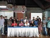 Persatuan Wartawan Indonesia (PWI) Provinsi Bali menggelar kegiatan pra Uji Kompetensi Wartawan (UKW) di Gedung PWI Bali, Jalan Gatot Subroto Tengah, Denpasar, Bali, Jumat, 9 Oktober 2020 - foto: Koranjuri.com
