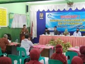 Workshop Sosialisasi Pembelajaran SMK CoE (Center of Excellence), di SMK YPT Purworejo, Jum'at (30/10/2020) - foto: Sujono/Koranjuri.com