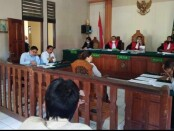 Sidang gugatan wanprestasi atau perbuatan ingkar janji yang dilayangkan Advokat Togar Situmorang kembali digelar di Pengadilan Negeri (PN) Denpasar, Senin (16/11/2020) - foto: Istimewa