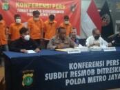 Curanmor DI DKI: Direktorat Reserse Kriminal Umum Polda Metro Jaya mengidentifikasi salah satu kelompok yang baru tertangkap sudah menggondol ratusan motor - foto: Bob/Koranjuri.com