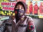 Kasubag Humas Polres Purworejo Iptu Siti Komariah - foto: Sujono/Koranjuri.com